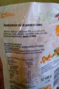 skład skórki pomarańczowej