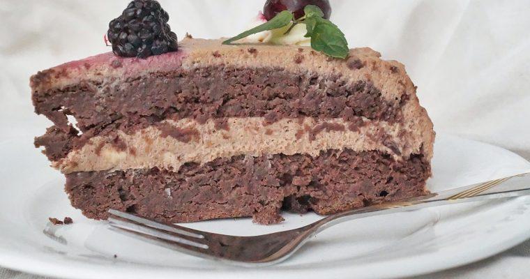 Tort urodzinowy bez cukru