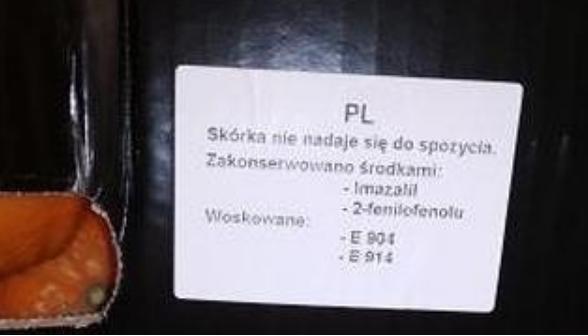 skórka nie nadaje się do spożycia mamachemik.pl