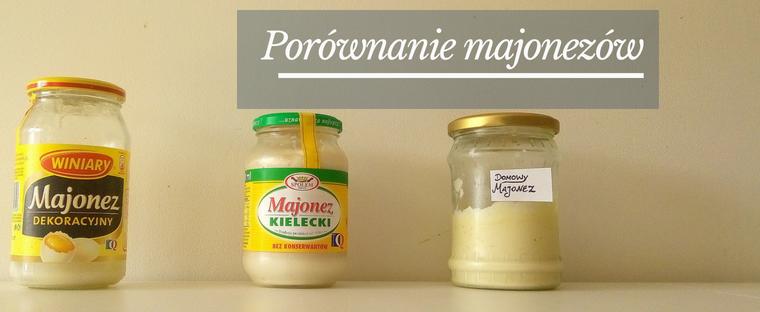 Porównania składu majonezów