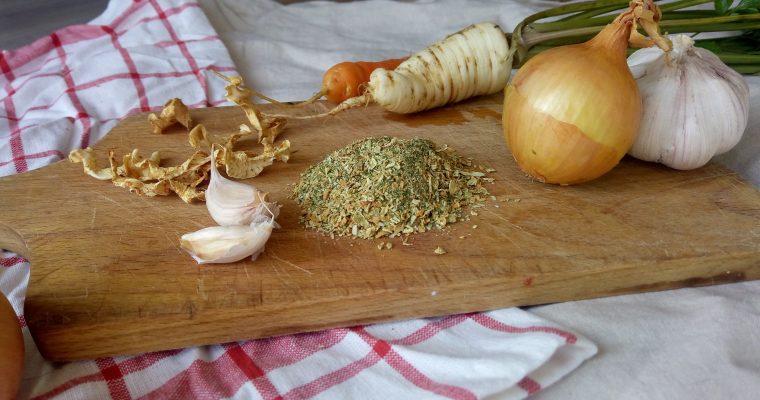 Domowa przyprawa warzywna à la Vegeta