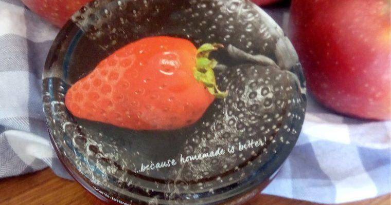 Przepis na dżem truskawkowo-jabłkowy z E440