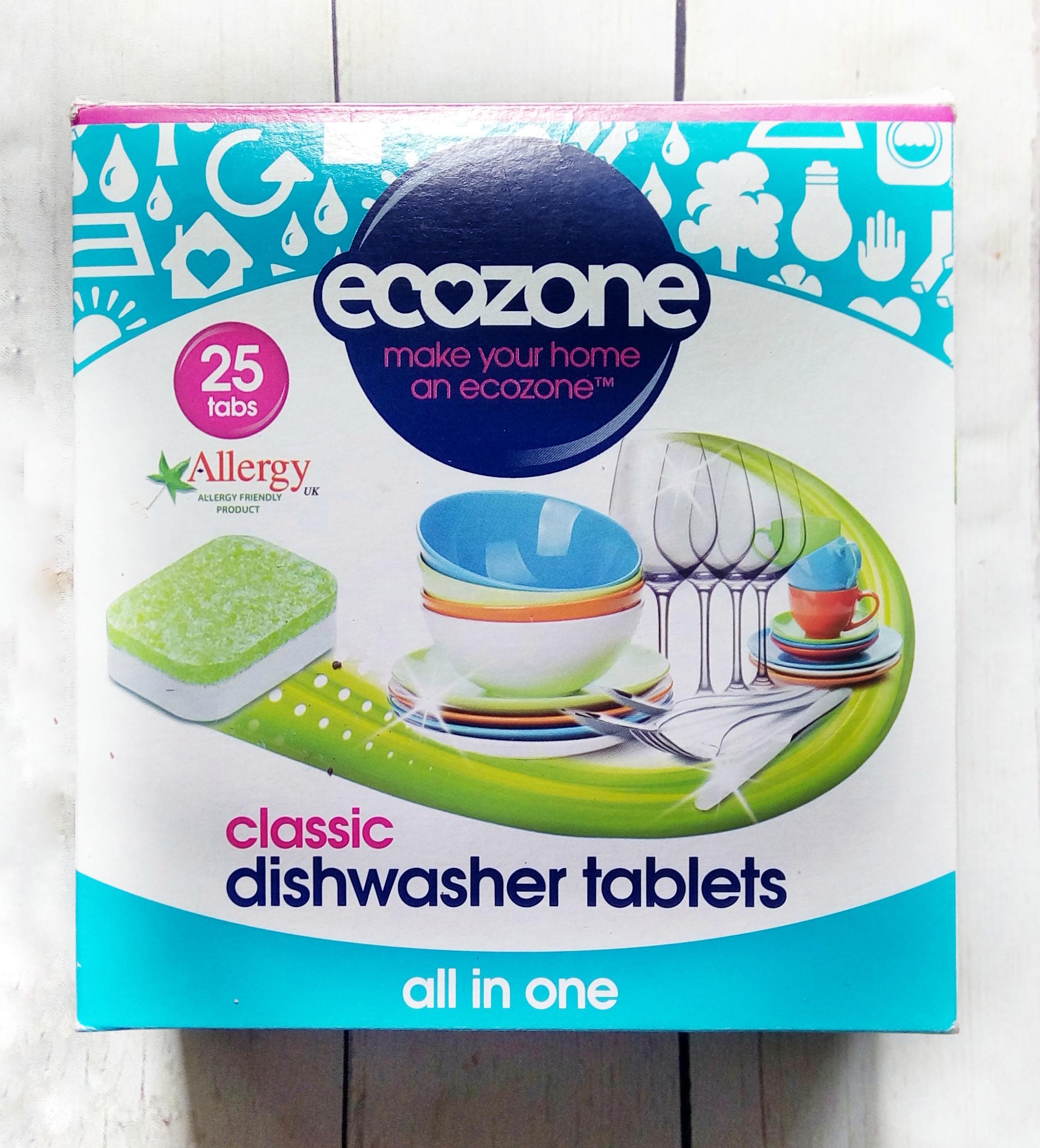 Tabletki do zmywarki ECOZONE Classic all in one