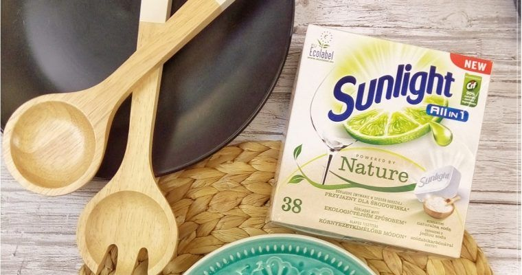 Tabletki do zmywarki Sunlight Powered by Nature All in 1