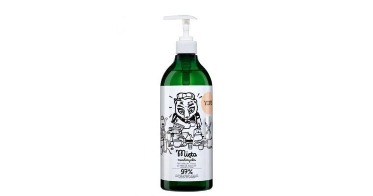 Płyn do mycia naczyń Yope – mięta i mandarynka